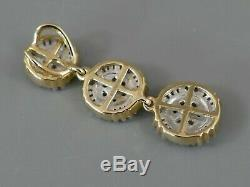 Fine Gemporia 1/2ct Diamond 9k Gold Drop Pendant with Certificate 356