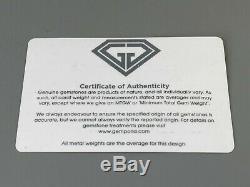 Fine Gemporia Ruby & White Topaz Gold Vermeil Bracelet with Certificate 357