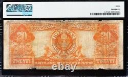 Fine graded 1922 $20 GOLD CERTIFICATE! PMG 12! FREE SHIPPING! K37465775