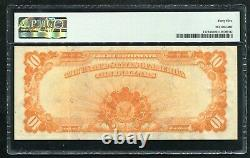 Fr1172 1907 $10 Ten Dollars Gold Certificate Currency Note Pmg Extremely Fine-45