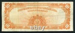 Fr. 1171 1907 $10 Ten Dollars Gold Certificate Currency Note Very Fine+