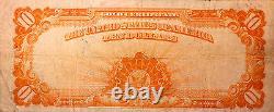Fr. 1173 $10 1922 Gold Certificate Pcgs Fine 15