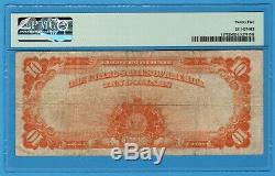 Fr. 1173 1922 $10 Gold Certificate PMG Very Fine 25