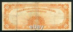 Fr. 1173 1922 $10 Ten Dollars Gold Certificate Currency Note Very Fine (i)