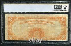 Fr. 1173 1922 $10 Ten Dollars Star Gold Certificate Currency Note Pcgs Fine-15