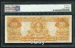 Fr 1180 1905 $20 Twenty Dollars Technicolor Gold Certificate Pmg Very Fine-25