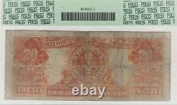Fr. #1182, $20.00, 1906 Gold Certificate, PCGS 12 Fine