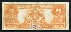 Fr. 1183 1906 $20 Twenty Dollars Gold Certificate Currency Note Very Fine+