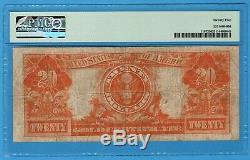 Fr. 1187 1922 $20 Gold Certificate PMG Very Fine 25