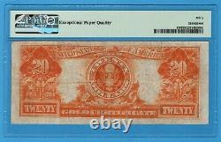 Fr. 1187 1922 $20 Gold Certificate PMG Very Fine 30 EPQ