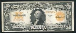 Fr. 1187 1922 $20 Twenty Dollars Gold Certificate Currency Note Very Fine+ (b)