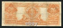 Fr. 1187 1922 $20 Twenty Dollars Gold Certificate Currency Note Very Fine (b)