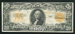 Fr. 1187 1922 $20 Twenty Dollars Gold Certificate Currency Note Very Fine (e)
