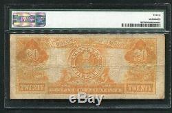 Fr. 1187 1922 $20 Twenty Dollars Gold Certificate Pmg Very Fine-20