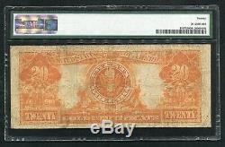 Fr. 1187 1922 $20 Twenty Dollars Gold Certificate Pmg Very Fine-20 (b)