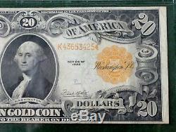 Fr#1187 1922 Series $20.00 Gold Certificate Pmg 30 Epq Very Fine