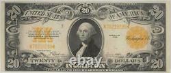 Fr. 1187 $20 1922 Gold Certificate SN K78219286 Raw / Uncertified (Extra Fine)