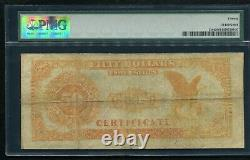 Fr. 1194 1882 $50 Fifty Dollars Gold Certificate Currency Note Pmg Very Fine-20