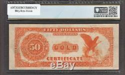 Fr. #1197 1882 $50 Gold Certificate, Pcgs Choice Very Fine 35