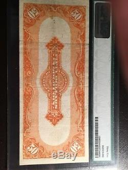 Fr#1200 1922 $50.00 Gold Certificate Pmg Graded Choice Very Fine -35