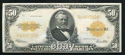 Fr. 1200 1922 $50 Fifty Dollars Gold Certificate Currency Note Extremely Fine