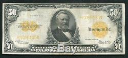 Fr. 1200 1922 $50 Fifty Dollars Gold Certificate Currency Note Very Fine