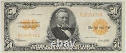 Fr. 1200 $50 1922 Gold Certificate SN B1629175 Raw / Circulated (Very Fine)