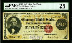 Fr 1206 1882 $100 Gold Certificate PMG 25 VERY FINE ONLY 51 KNOWN IN CENSUS