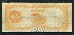 Fr. 1215 1922 $100 One Hundred Dollars Gold Certificate Currency Note Very Fine