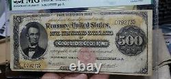 Fr. 1216b $500 1882 Gold Certificate PMG Fine 15