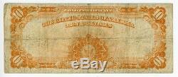 Fr. 1773 $10 1922 Gold Certificates #DC-1832 FINE