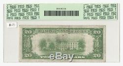 Fr. 2042 1928 $20 Gold Certificate PCGS 30 Very Fine