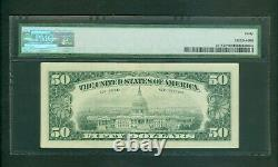 Fr#2117-d 1969-c $50 Rare Cleveland Low Serial Star Note Pmg Extra Fine 40
