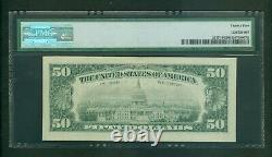 Fr#2117-h 1969-c $50 Rare St. Louis Mega Low Serial Star Note Pmg Very Fine 25