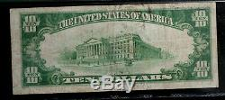 Fr 2400 1928 $10 GOLD CERTIFICATE PMG 25 FREE SHIPPING VERY FINE GOLD
