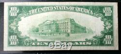 Fr 2400 1928 $10 GOLD CERTIFICATE PMG 25 FREE SHIPPING VERY FINE NICE