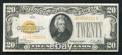 Fr. 2402 1928 $20 Twenty Dollars Gold Certificate Currency Note Extremely Fine+