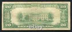 Fr. 2402 1928 $20 Twenty Dollars Gold Certificate Currency Note Very Fine
