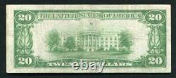Fr. 2402 1928 $20 Twenty Dollars Gold Certificate Currency Note Very Fine+