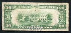 Fr. 2402 1928 $20 Twenty Dollars Gold Certificate Currency Note Very Fine (d)