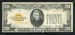 Fr. 2402 1928 $20 Twenty Dollars Gold Certificate Currency Note Very Fine (h)