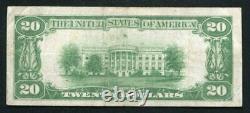 Fr. 2402 1928 $20 Twenty Dollars Gold Certificate Currency Note Very Fine (j)