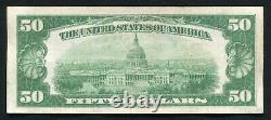 Fr. 2404 1928 $50 Fifty Dollars Gold Certificate Currency Note Very Fine+ (b)