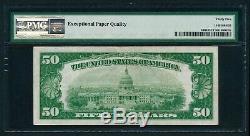 Fr. 2404 1928 $50 Gold Certificate Note PMG VERY FINE 35 EPQ