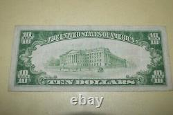 GENUINE 1928 $10 Gold Certificate US Currency Payable in Gold Coin VERY FINE