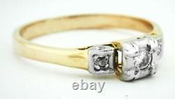 GENUINE Certified DIAMONDS RING 10K YELLOW GOLD FREE Certificate Appraisal