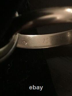 Heavy Vintage Cartier 1993 Tri-Color Trinity Ring with Certificate Sz. 8.5-8.75