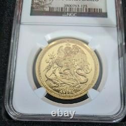 Isle of Man 2014 1 oz. Fine Gold Angel NGC PF 70 Ultra Cameo & Certificate