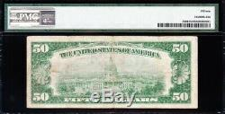 NICE RARE Bold Choice Fine+ 1928 $50 GOLD CERTIFICATE! PMG 15! A00629625A