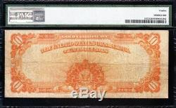 Nice Fine 1922 $10 GOLD CERTIFICATE! PMG 12! FREE SHIPPING! H35433806
